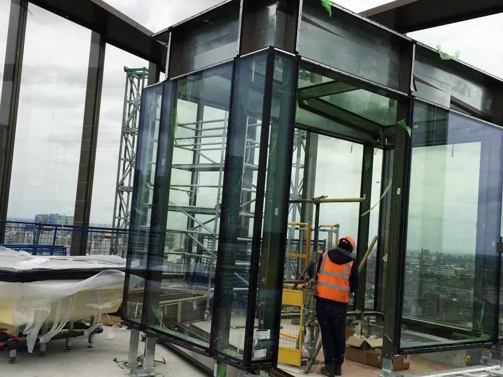 Projects Block 5 One Tower Bridge Window Fixers Facade Installation Fixing Company